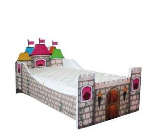 Pat Copii Castel Mare 160x80 - 2-12 ani
