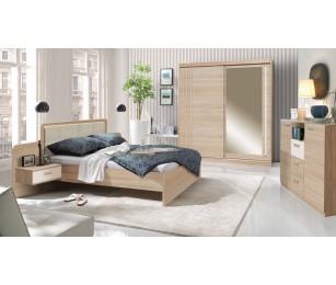 Dormitor Complet Premium - Effect Sonoma