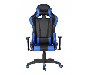 Scaun Gaming US90 Silverstone Negru-Albastru - Birou Ergonomic