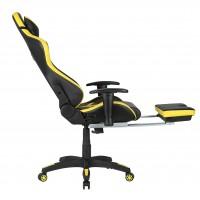 Scaun Gaming US78 Racing Pro Negru-Galben - Birou Ergonomic